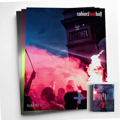 Cahiers du football: n°4 au n°6 + Livre Contre Allez