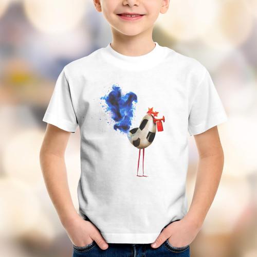 T-shirt enfant Coq Soccer