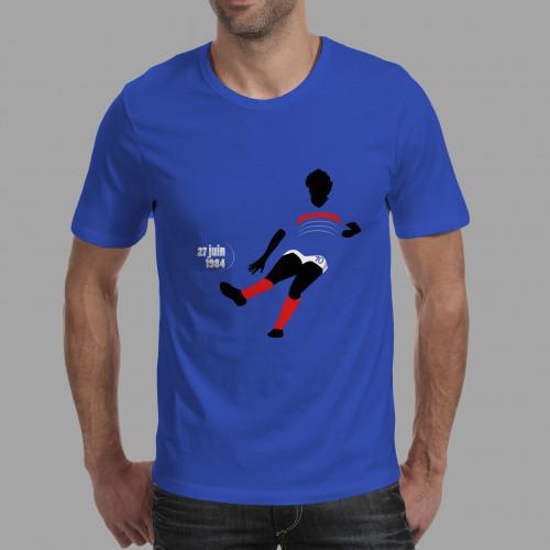 T-shirt homme Platini, Euro 84