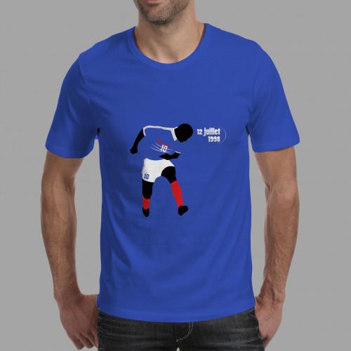 T-shirt homme Zidane, Mondial 98