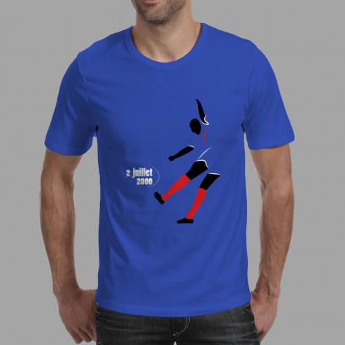 T-shirt homme Trezeguet, Euro 2000