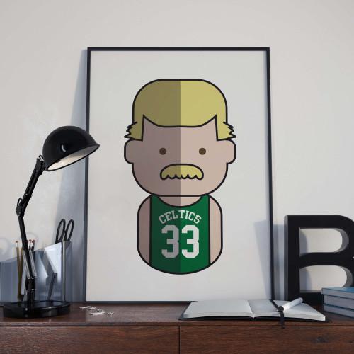 Affiche Birds Celtics