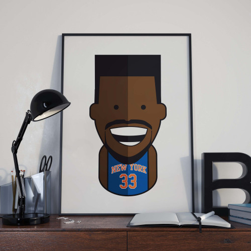 Affiche Ewing Knicks