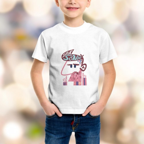 T-shirt enfant Messi Supersonic