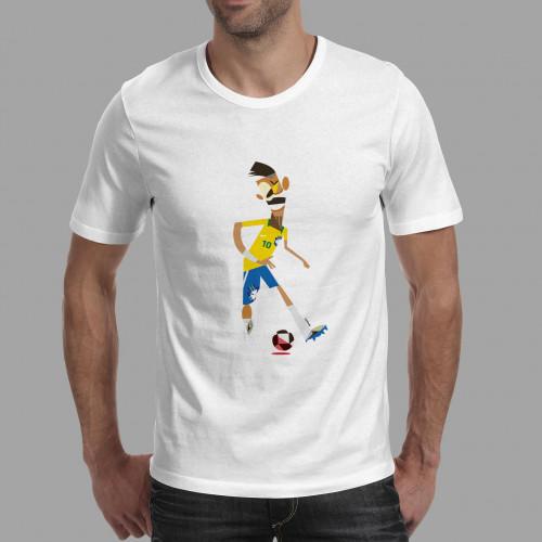 T-shirt homme Neymar Bresil
