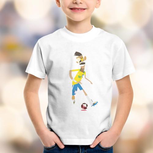 T-shirt enfant Neymar Bresil