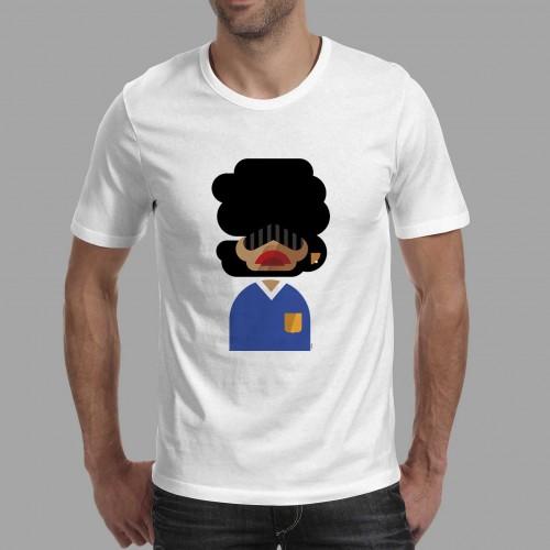 T-shirt homme Maradona Argentine
