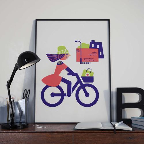 Affiche Vélorution