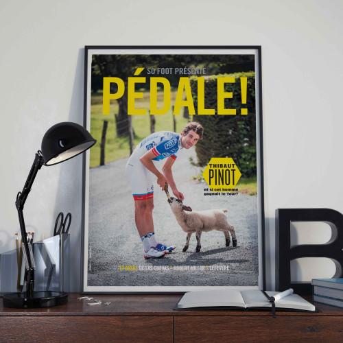 Affiche Thibaut Pinot Pédale § 05