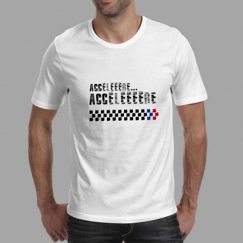 T-shirt homme ACCELEEEERE