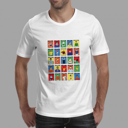 T-shirt homme Légendes du football