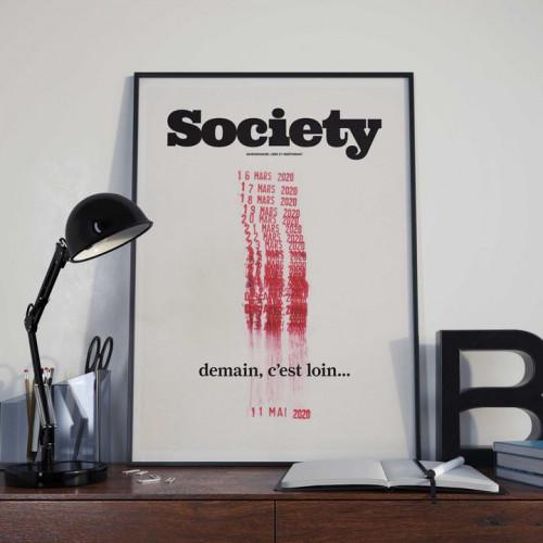 Affiche Society 129, Demain c'est loin, 2020