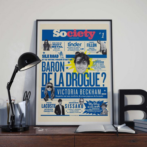 Affiche Society numéro 1