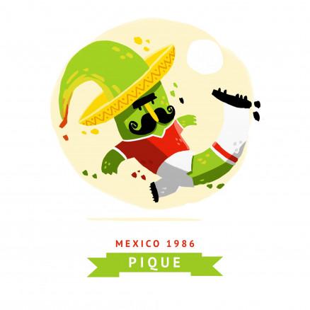 Mascotte Mondial 1986