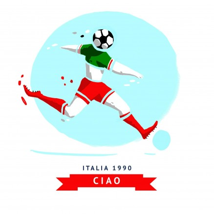 Mascotte Mondial 1990