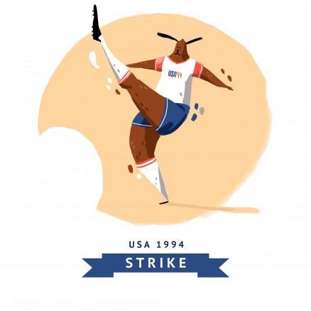 Mascotte Mondial 1994