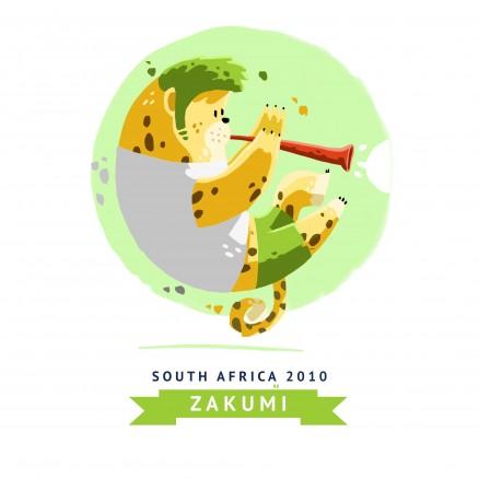 Mascotte Mondial 2010