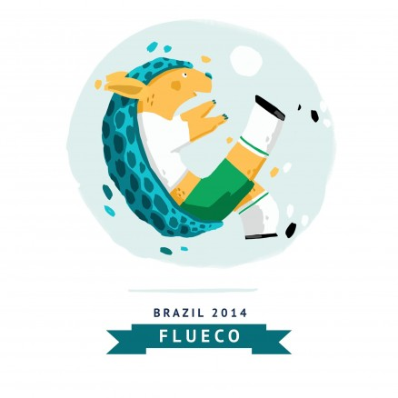Mascotte Mondial 2014