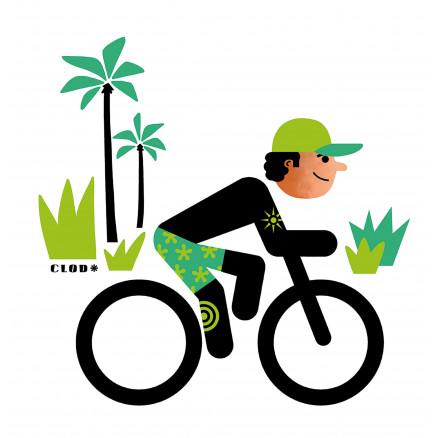 Rider et cocotiers