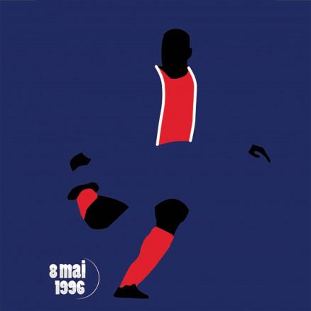 N'Gotty, PSG-Rapid Vienne 1996