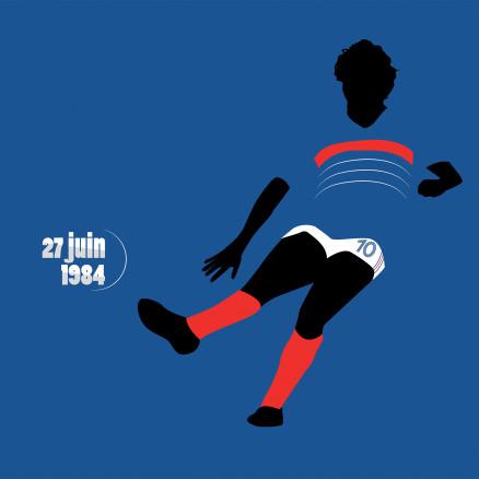 Platini, Euro 1984