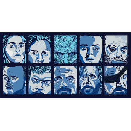 GOT Characters Mosaic