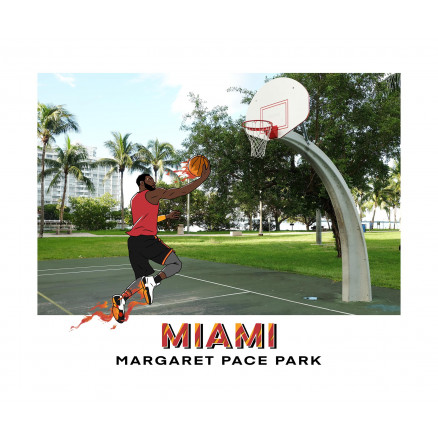 Miami / Margaret Pace Park (version HEAT)