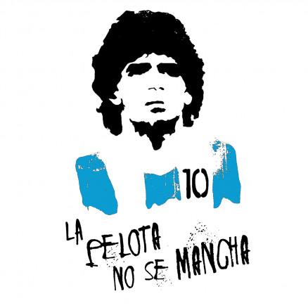 Maradona La pelota no se mancha