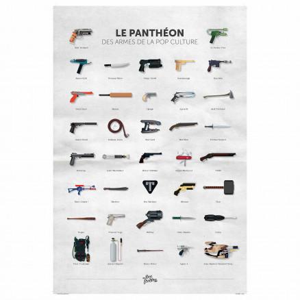 Panthéon des armes de la pop culture
