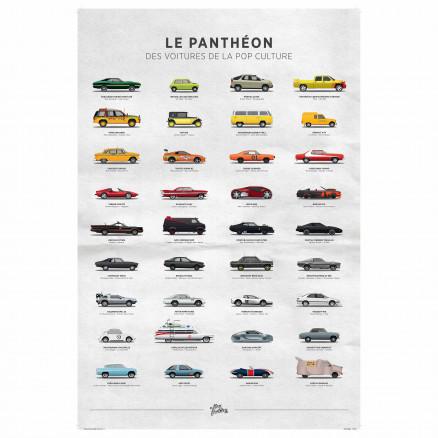 Panthéon des voitures de la pop culture