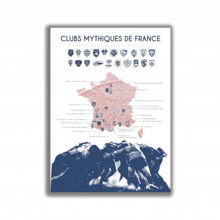 Clubs mythiques du rugby français